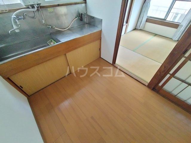 第三川端荘 201号室の収納