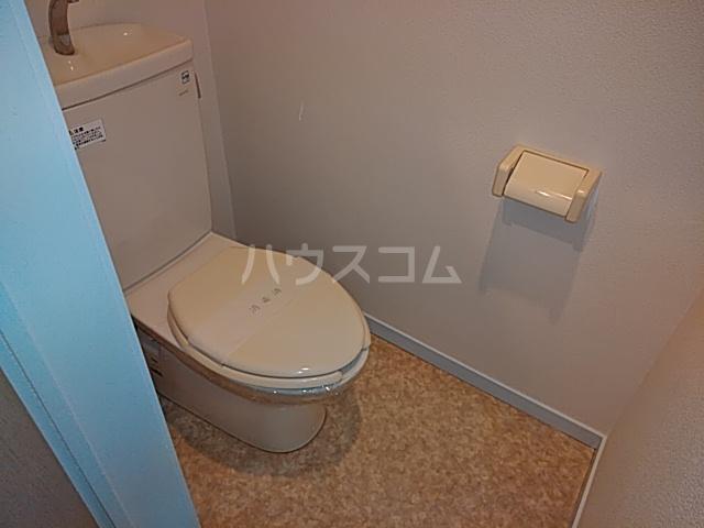 きさらぎビル 107号室のトイレ