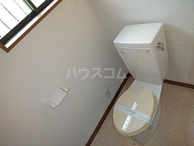 グリーンヒルズ 201号室のトイレ