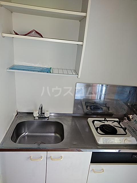 グリーンヒルズ 201号室のキッチン