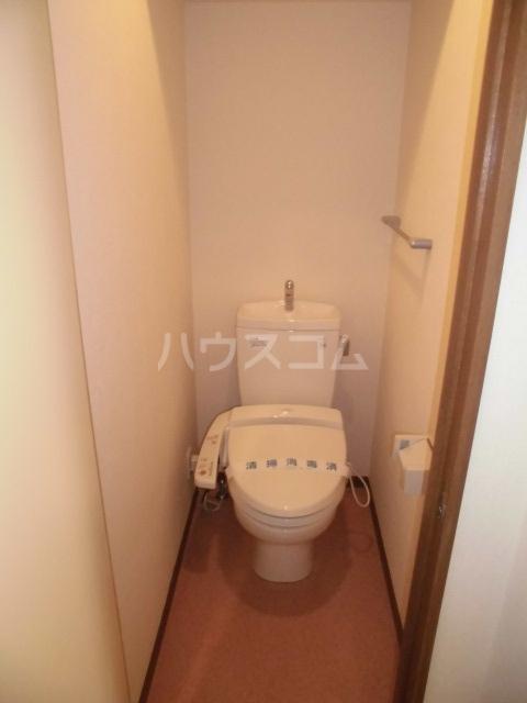 ふくや 60B号室のトイレ