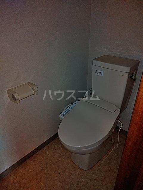 パークサイドⅢ B2号室のトイレ