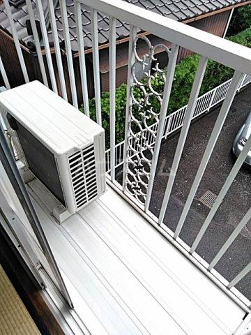 プレジール天王台 201号室のベッドルーム