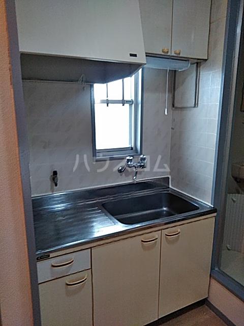 プレジール天王台 201号室のキッチン
