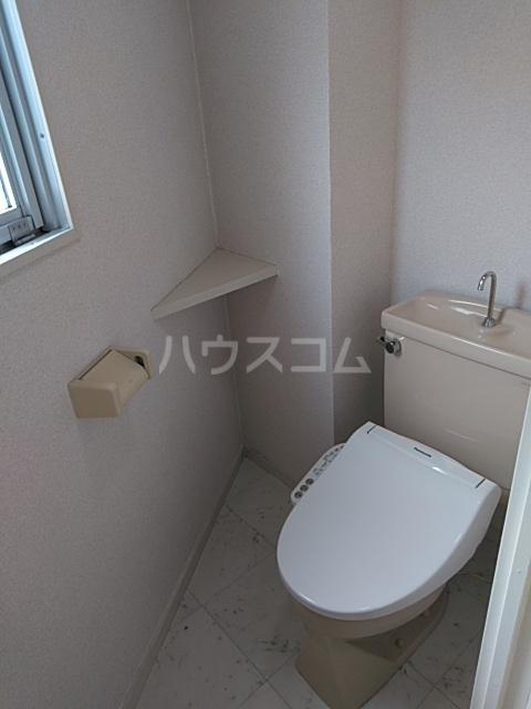 サンホワイト行徳 201号室のトイレ