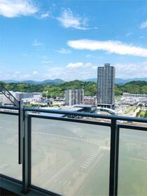 マークス・ザ・タワー東静岡 1401号室のバルコニー