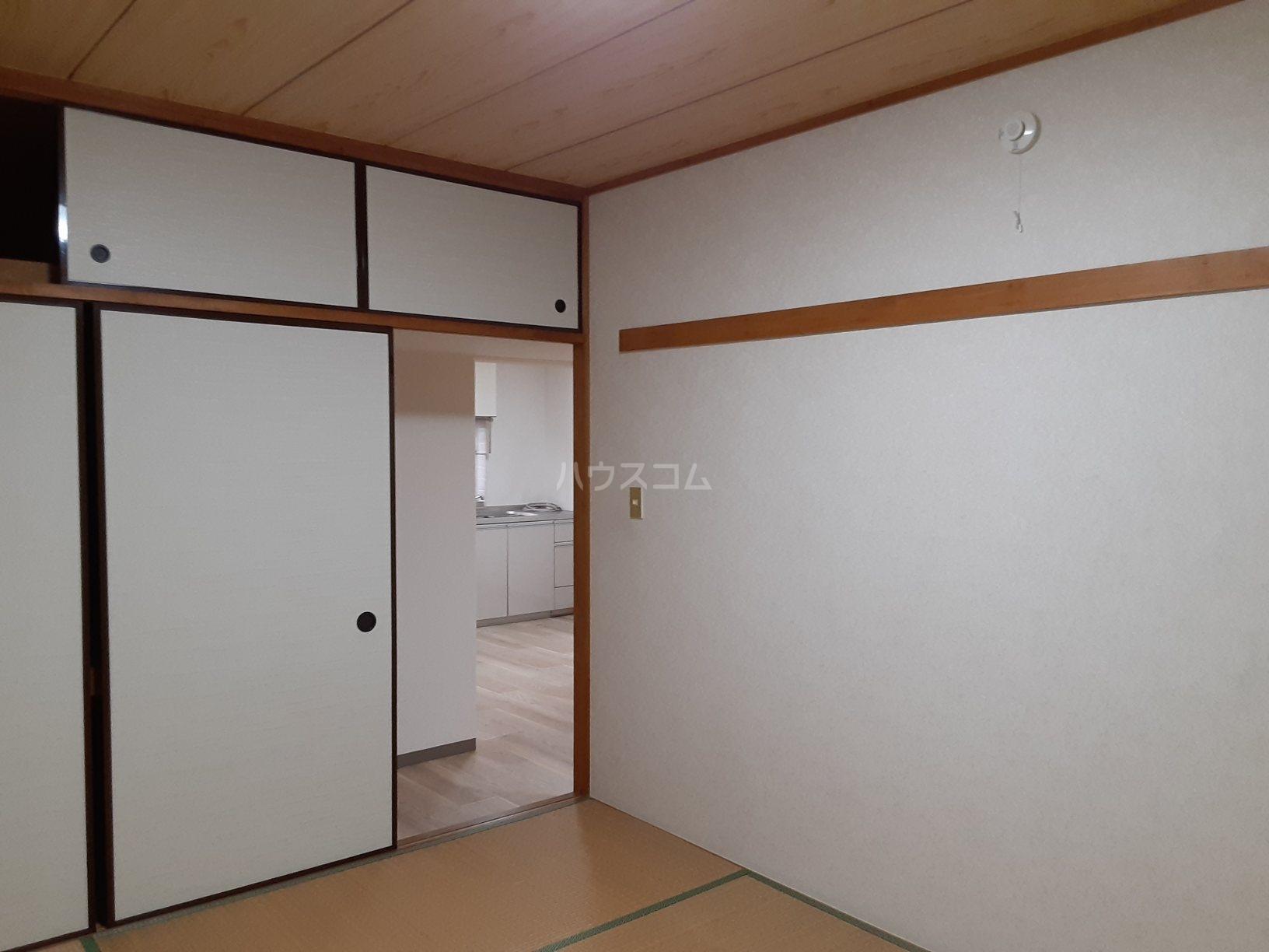 柿木台高橋マンション 104号室のバルコニー