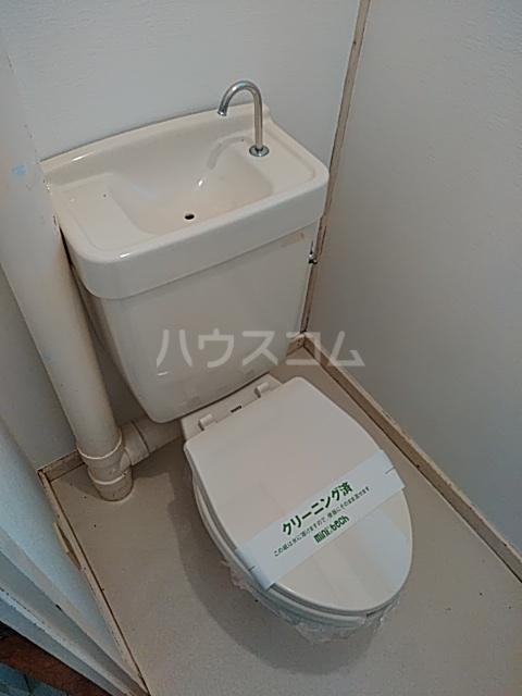 タウンベル 203号室のトイレ