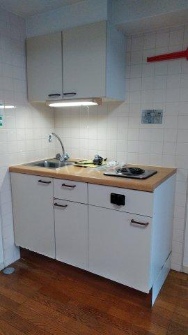 クレセントコート静岡 502号室のキッチン