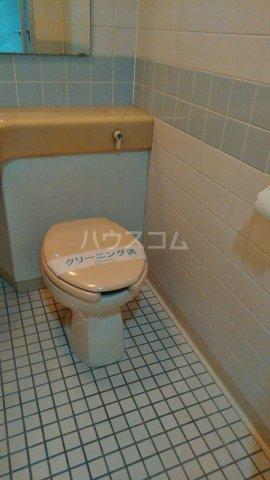 クレセントコート静岡 502号室のトイレ