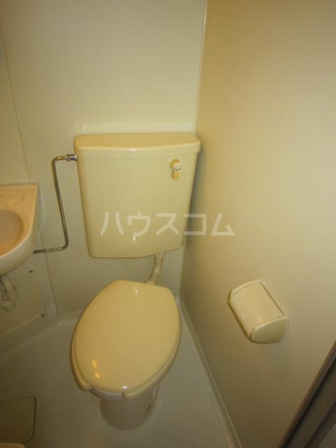 シティクレスト壱番館 104号室のトイレ