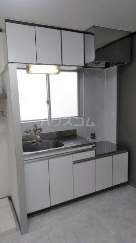和幸ハイム 202号室のキッチン