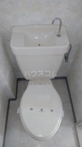 和幸ハイム 202号室のトイレ