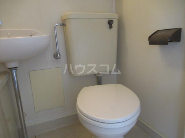 コスモハイツ 201号室のトイレ