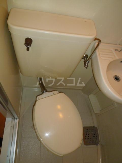 コーポ富士見 308号室のトイレ