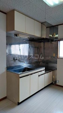 ハイツオオシマ 101号室のキッチン