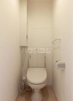 プラシード 02010号室のトイレ