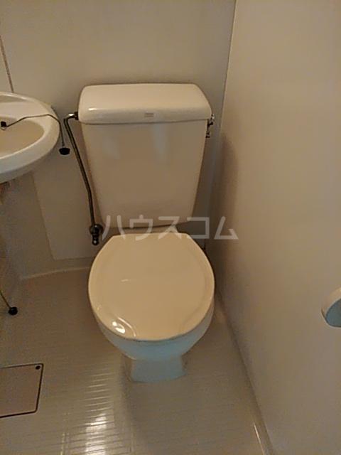 清水センチュリー21 201号室 201号室のトイレ