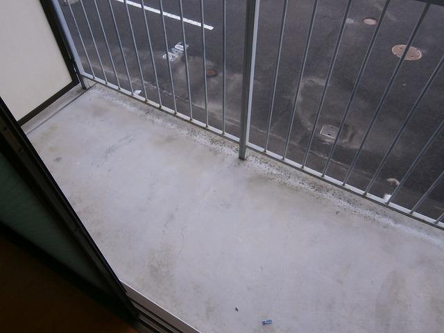 ゴールドマンション安井 418号室のバルコニー