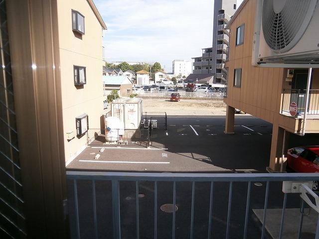 ゴールドマンション安井 418号室の景色