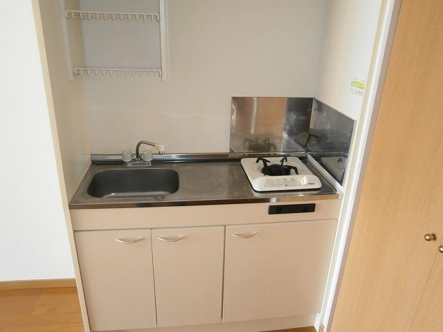 ゴールドマンション安井 418号室のキッチン