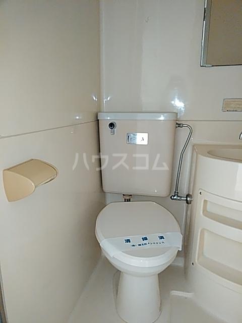 共栄ハイツ 206号室のトイレ