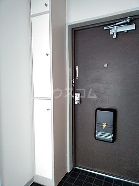 共栄ハイツ 206号室のバルコニー