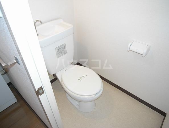 霧が丘グリーンタウン1-7 302号室のトイレ