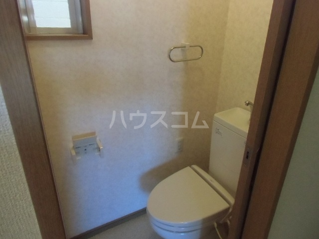 アドバンス落合 203号室のトイレ