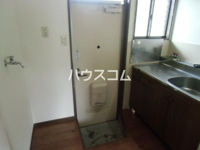 三立ハイツⅢ 203号室の玄関