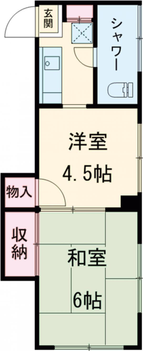 武田マンション 303号室の間取り