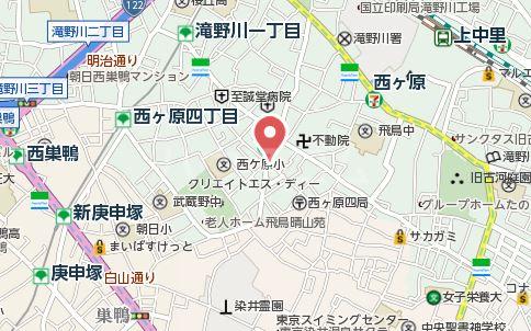 武田マンション 303号室の地図