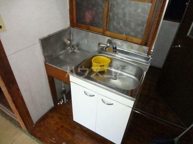 渡辺荘 201号室のキッチン