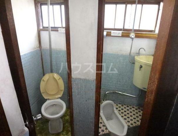 渡辺荘 201号室のトイレ