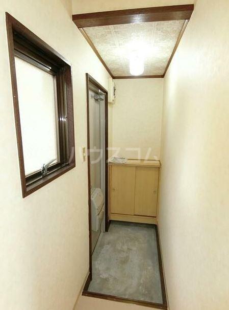 鈴木コーポ 201号室の玄関