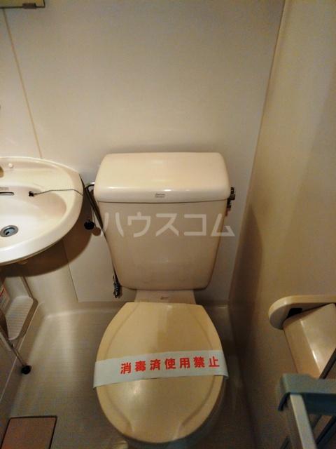 コーポ西谷 303号室のトイレ