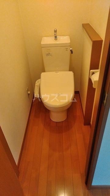 グットライフ 201号室のトイレ