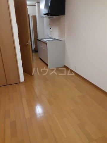 FLAT DOZE 203号室のバルコニー
