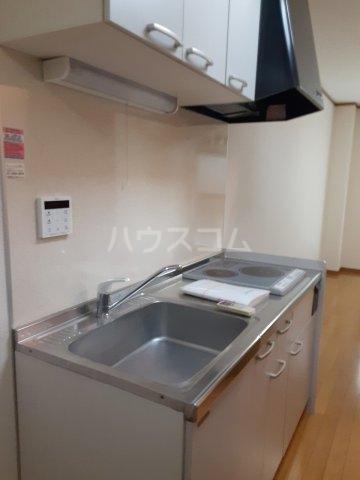 FLAT DOZE 203号室のキッチン