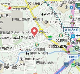 大島アパート 201号室の地図