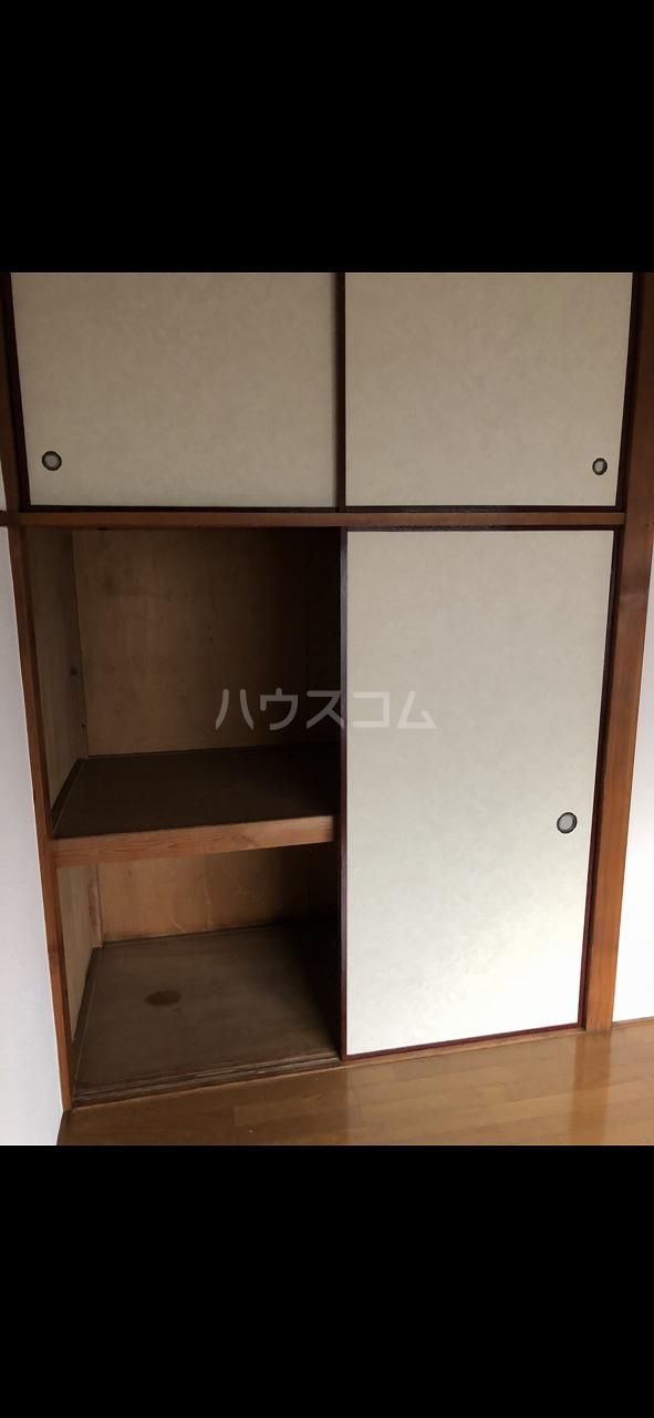 大島アパート 201号室の収納