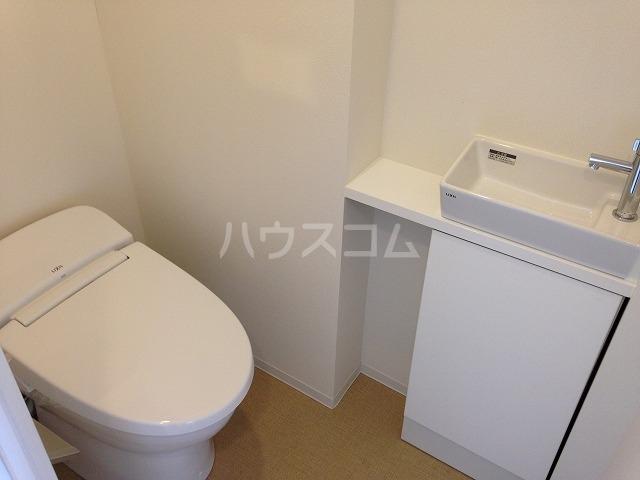 フェリオ池袋 701号室のトイレ