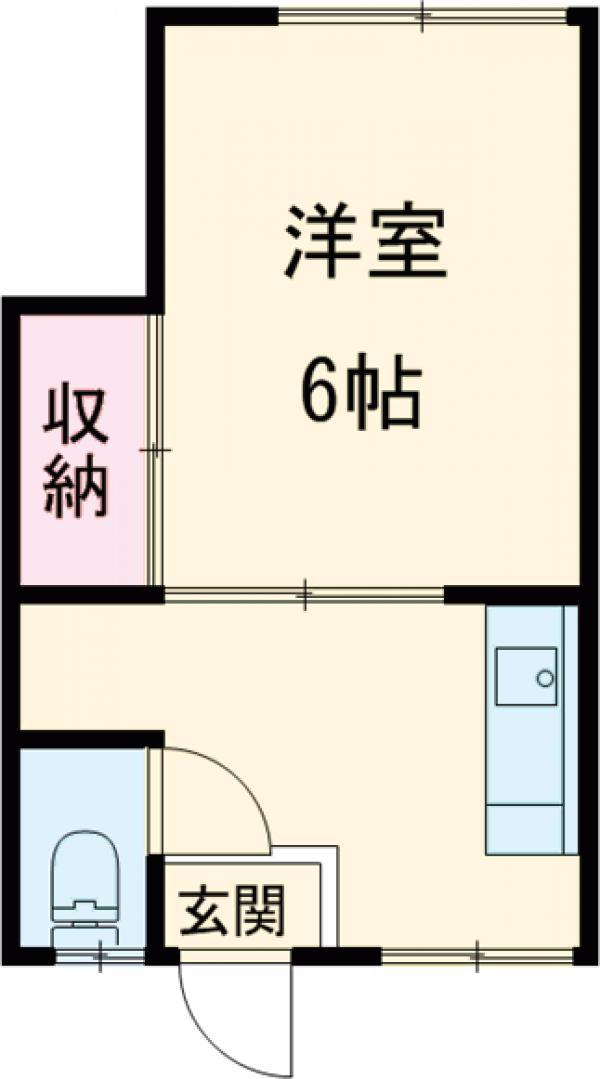 寺田ビル・402号室の間取り
