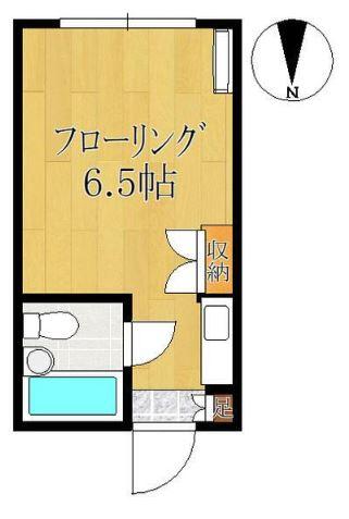 神田ホームズ 102号室の間取り