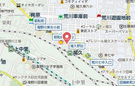 リベルジェ尾久駅前 702号室の地図