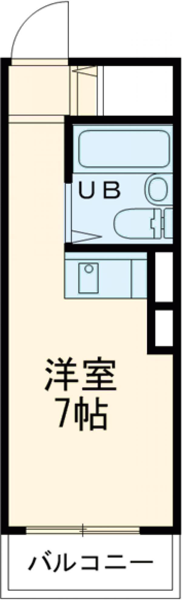ライオンズマンション大塚第2 602号室の間取り