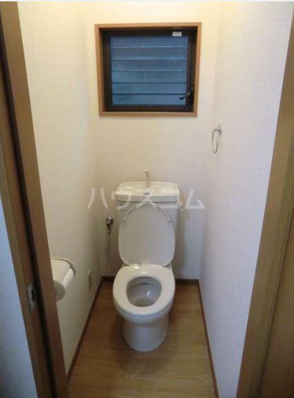 ハピネス 102号室のトイレ