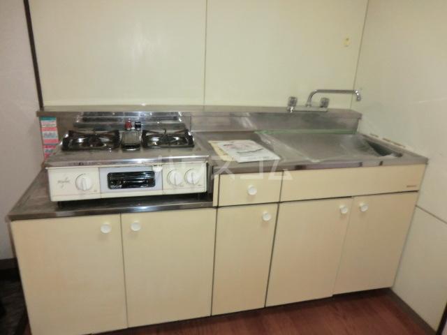 メゾン三恵 201号室のキッチン