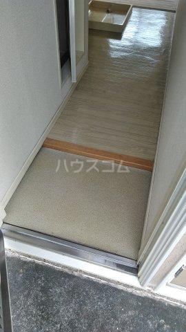 VISTA 202号室の玄関