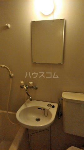VISTA 202号室の洗面所
